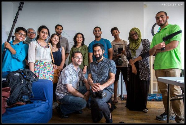 Muslim Youth Voices Project in New York, August 2014.